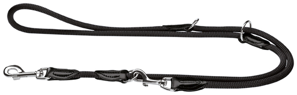 Hunter Black Rope Training Leash