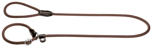 Hunter Freestyle Rope Retriever-Leash with Stopring, Brown