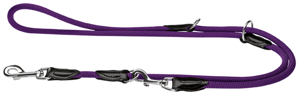 Hunter Violet Rope Training Leash