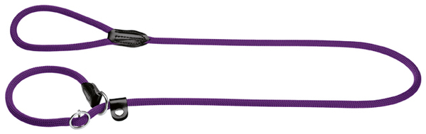 Hunter Freestyle Rope  Retriever-Leash with Stopring, Violet