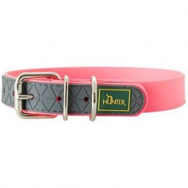 Hunter Neon Pink Collar 35cm