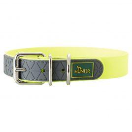 Hunter Neon Yellow Neoprene Collar 50cm