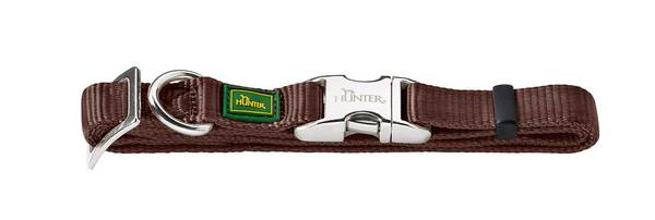 Hunter Brown Nylon Collar Large