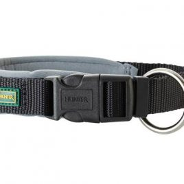 Hunter Black Nylon Neoprene Collar 35-40cm