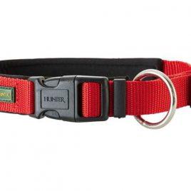 Hunter Red Nylon Neoprene Collar 45-50cm