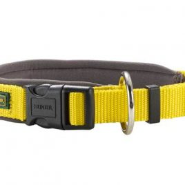Hunter Yellow Nylon Neoprene Collar 35-40cm