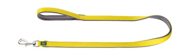 Hunter Yellow Nylon Neoprene Leash