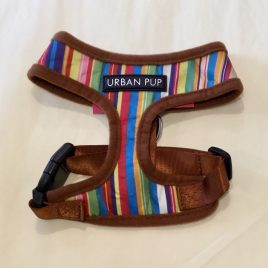Urban Pup Henley Striped Harness Small