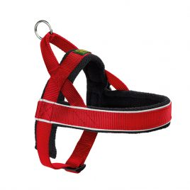 Hunter Red Fleece Norwegian Harness XL