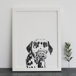 Ros Shiers Dalmatian Print