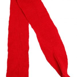 Urban Pup Red Knitted Scarf