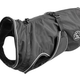 Dog Coat Uppsala Black 25cm