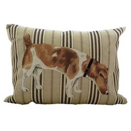 Gobelin Jack Russell Sniff Cushion