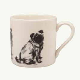 Victoria Armstong Pug Seated Mug