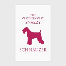 Bottle Green Homes Schnauzer Tea Towel
