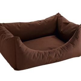 Hunter Dog sofa Gent Antibacterial Brown 80cm