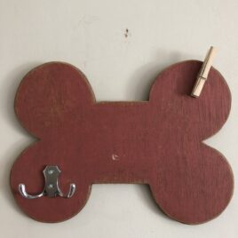 Dog Bone Hook Red