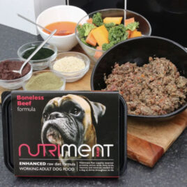 Nutriment Raw Beef 500g